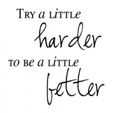 Try A Little Harder...