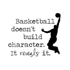 Basket ball doesn't...