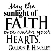 May The Sunlight...
