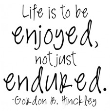 Life Is To Be...