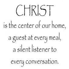 Christ Is The Center...