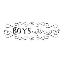 No Boys...